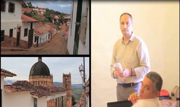 José Cantero en formación a empresarios en turismo experiencial en Bucaramanga, Colombia