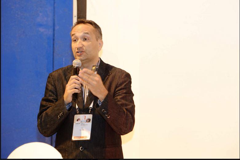 José Cantero en la Feria evento days. Arte+marketing experiencial, reinventa tu evento con una nueva propuesta creativa