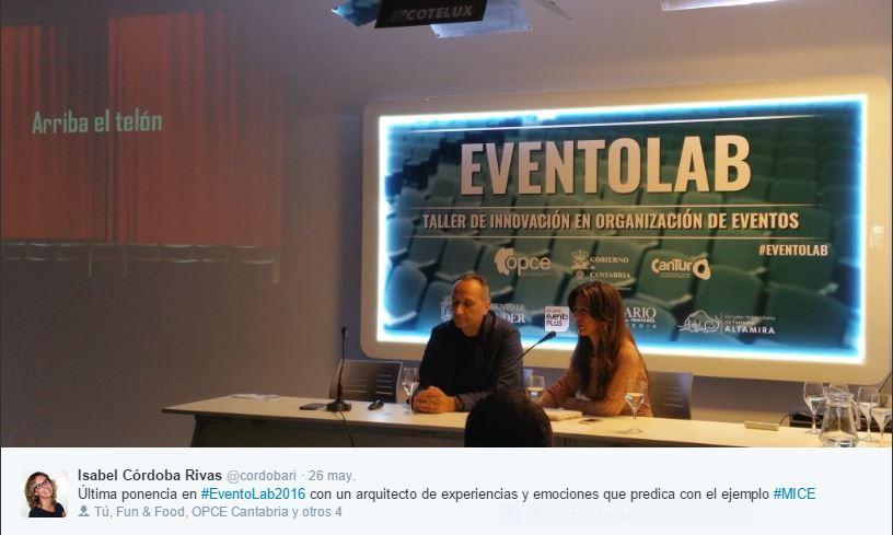 José Cantero EventoLab 2016