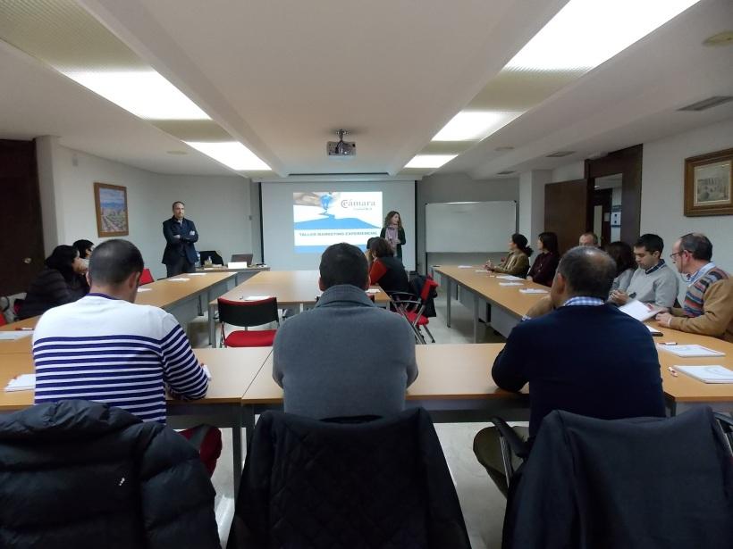 José Cantero Taller marketing experiencia en Cámara de Comercio de Ciudad Real