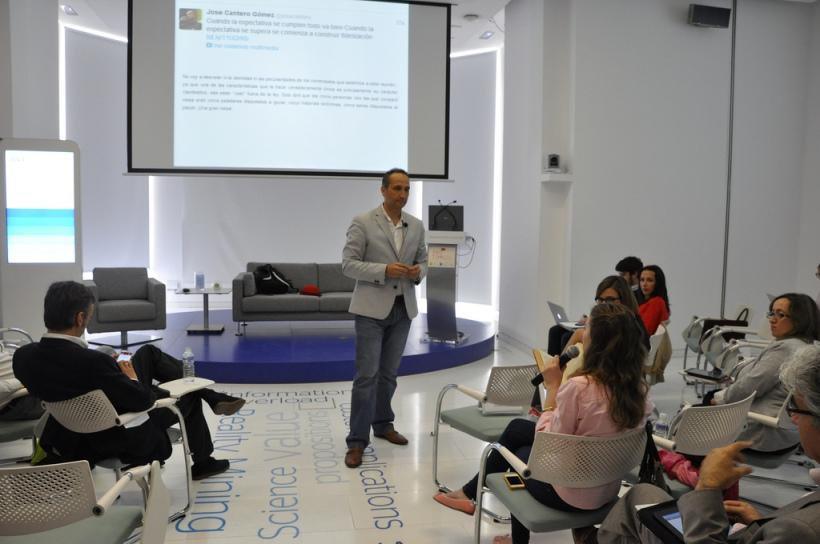 José Cantero en Centro de Innovación del BBVA en evento Marketing Thinkers