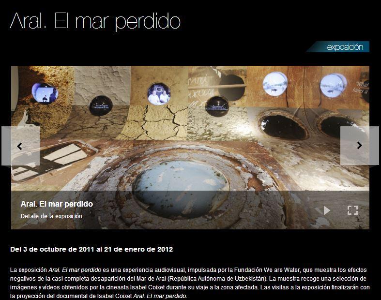 Exposición ARAL EL Mar perdido