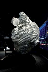 Detalle de una exposición pasada en Roca Gallery Madrid