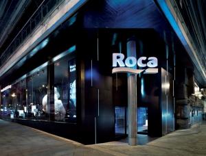 Entrada principal Roca Gallery Madrid