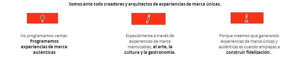 ARTETING: CONSULTORÍA EN MARKETING EXPERIENCIAL CULTURAL Y DE CONTENIDOS