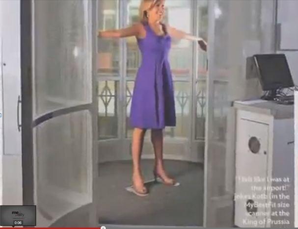 escaner 3d de cuerpo