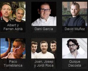 Cocineros de renombre en Chefsbox