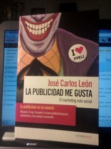 Libro La publicidad me gusta. Autor: José Carlos León