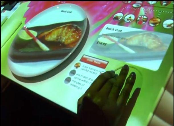 Menú interactivo: experiencia gastronómica única en el restaurante