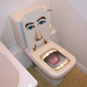 ¿Mala experiencia en un baño público?
