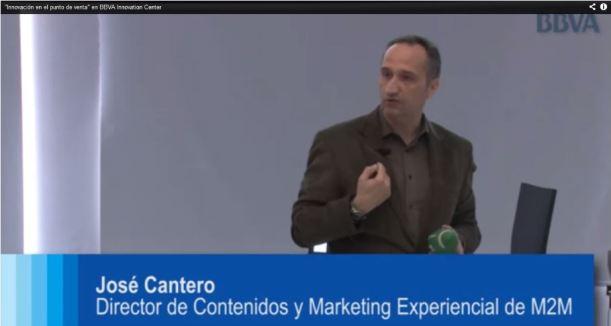 Jose Cantero en la Jornada innovación en retail y punto de venta en el Centro de Innovación del BBVA