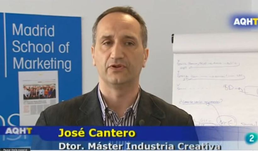 Jose Cantero, Director del master en dirección de marketing para la industria creativa
