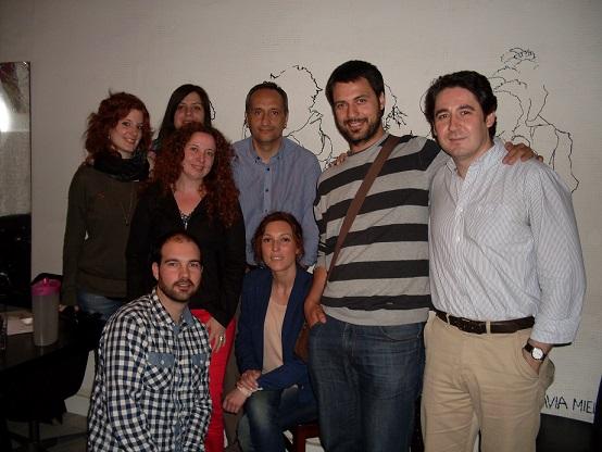 En Microteatro por dinero con los alumnos del master experiencial en dirección de marketing para la industria creativa