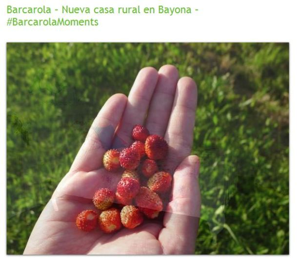 Barcarola Nueva casa rural incorporada a Babyrural en Bayona