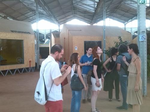 Detalle visita a Matadero y al proyecto Red Bull Academy