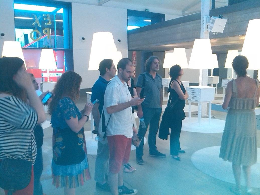 Visita Matadero con los alumnos del Master en marketing experiencial para la industria creativa y cultural