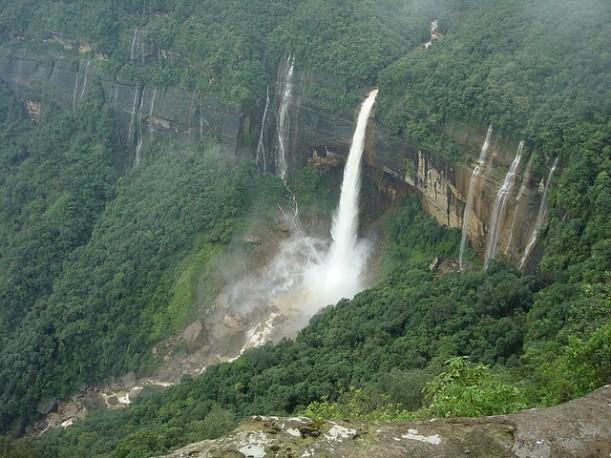 Cherrapunjee: uno de los lugares más lluvioso del mundo