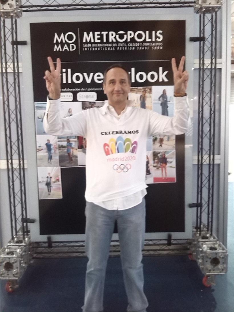 En Momad Madrid apoyando a Madrid 2020