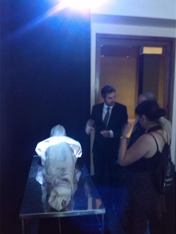 Exposición Sábana Santa y su comisario Álvaro Cruz