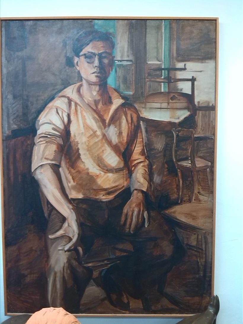 Obra autoretrato de Henri Lenaerts