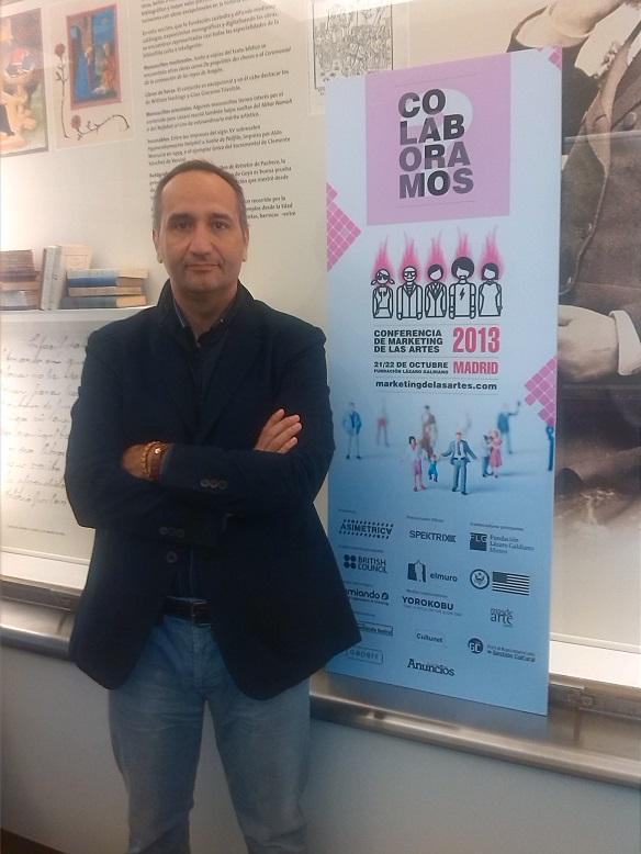 José Cantero. Conferencia Marketing de las artes. Consultor, formador y conferenciante en marketing experiencial