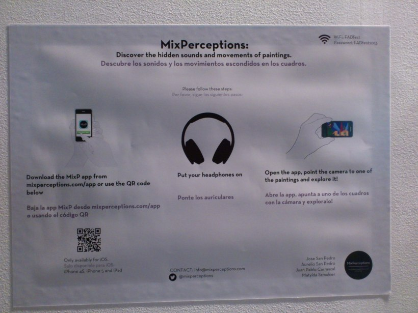 Mix Perceptions: obra visual interactiva