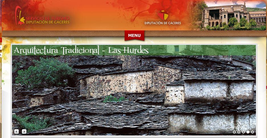 Servicio de turismo de Diputación de Cáceres