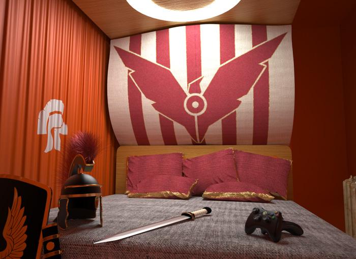 Ryse habitación XBOX Hotel