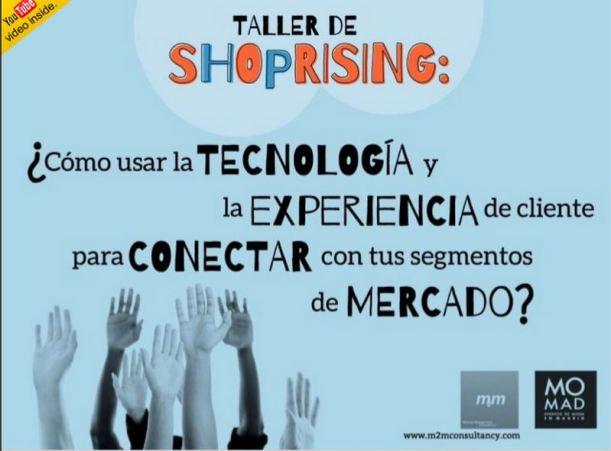 Taller Shopprising en Feria Momad Metrópolis Madrid Ifema Septiembre de 2013