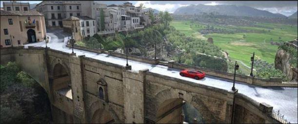 Ronda y videojuego 'Gran Turismo 6'