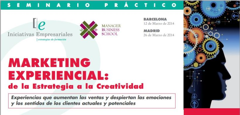 Curso presencial de marketing experiencial de la estrategia a la creatividad en Madrid y Barcelona