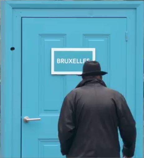 Puertas interactivas para viajar por Europa