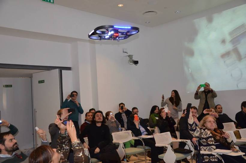 Drones en el Centro de Innovación del BBVA