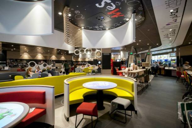 Mesa interactivas Macdonalds