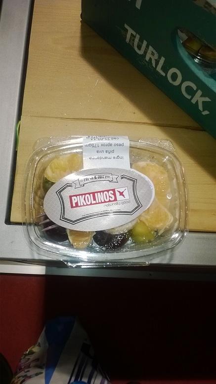 pack de frutas cortesía Pikolinos
