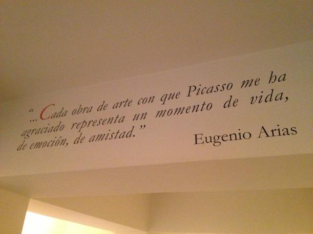 Museo Picasso Colección Eugenio Arias