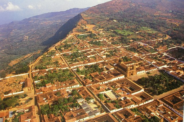 Barichara pueblo colonial