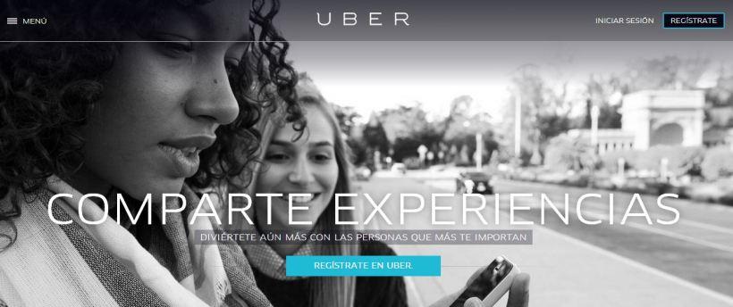 Uber comparte experiencias