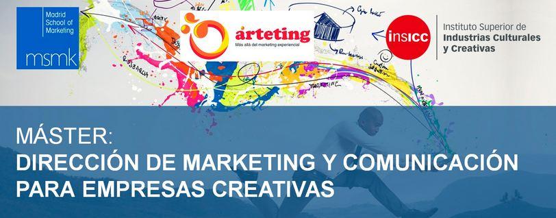 Master en dirección de marketing y comunicación para las empresas creativas
