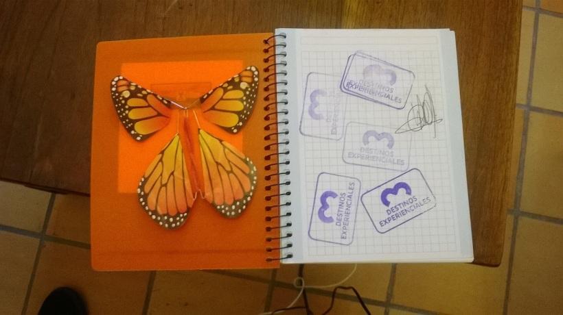 Cuaderno de viaje formación en turismo experienical empresario de Colombia