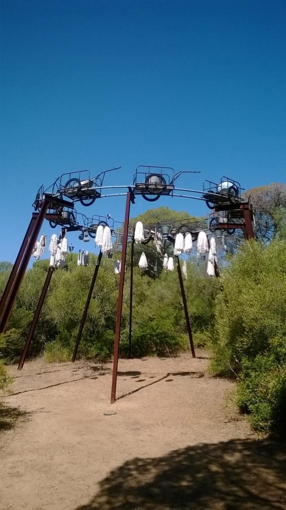 Escultura de Pascale Marthine
