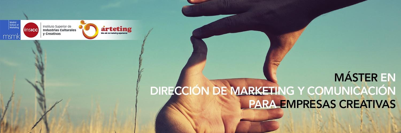 Master en dirección de marketing y comunicación para empresas creativas