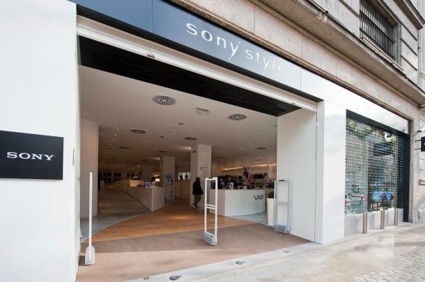 Sony Style Madrid calle Serrano