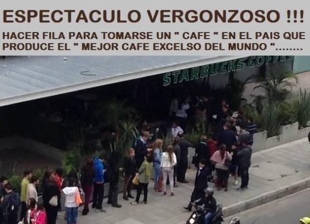 Starbucks en Bogotá Colombia