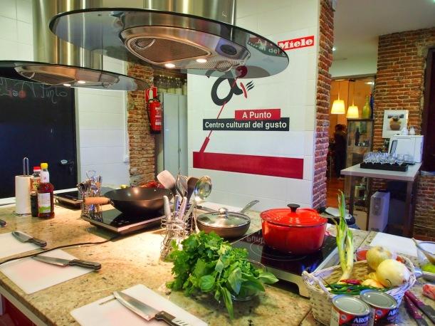 Seminario de marketing experiencia y taller gastronomía en Cocina A Punto