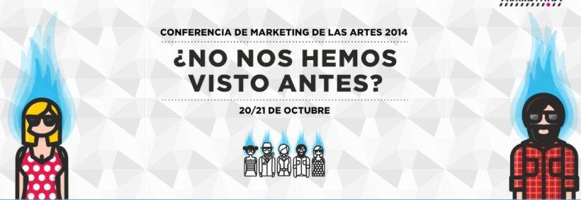 Conferencia de marketing de las artes