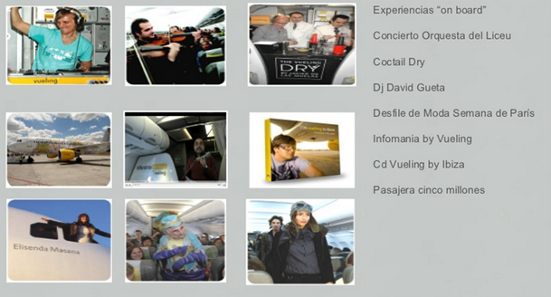 Vueling on board