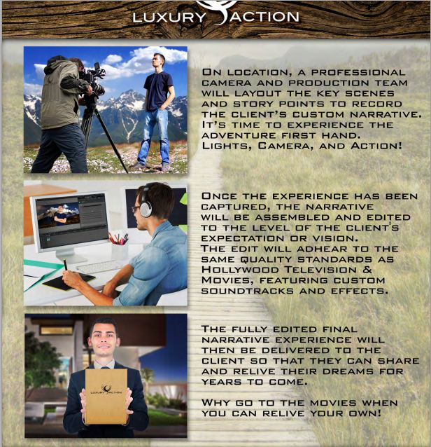 Luxury action turismo experiencias