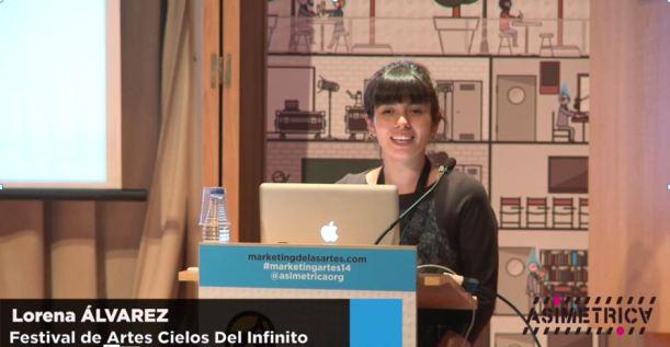 Lorena Álvarez del Festival de Artes Cielos del Infinito