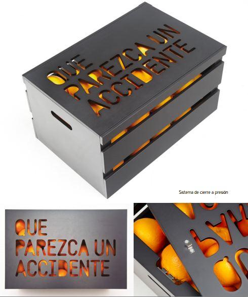 Naranjas con arte